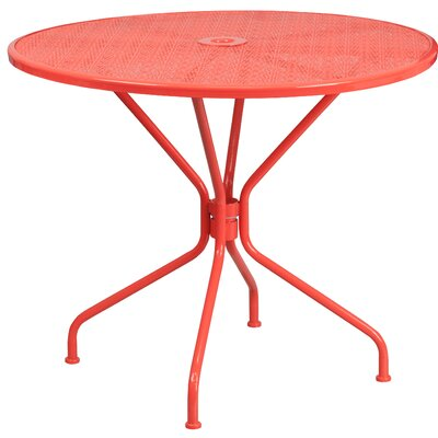 Aurigae Dining Table Finish: Coral
