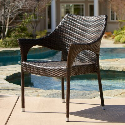 Brizendine Outdoor Wicker 3 Piece Lounge Seating Group
