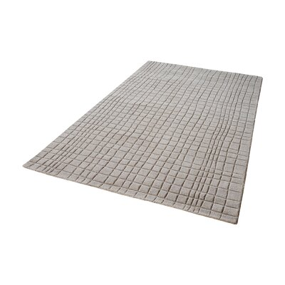 Beringer Hand-Woven Chelsea Gray Area Rug Rug Size: Rectangle 5 x 8