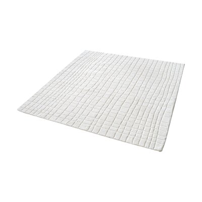 Beringer Hand-Woven Cream Area Rug Rug Size: Square 14