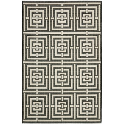 Schafer Abstract Indoor/Outdoor Area Rug Rug Size: 9 x 12