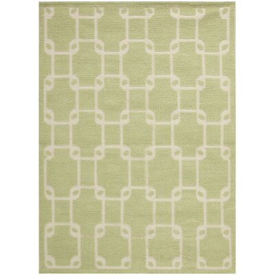 Vermont Hand-Woven Olive Area Rug Rug Size: Rectangle 8 x 10