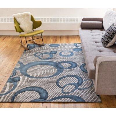 Ruark Blue Area Rug Rug Size: 710 x 910