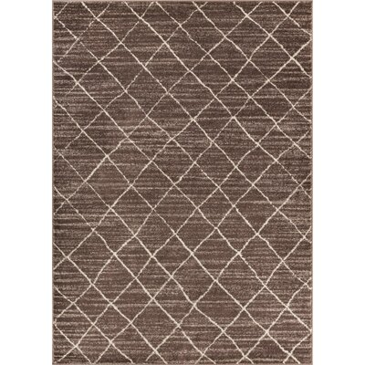 Preece Modern Moroccan Natural Area Rug Rug Size: Rectangle 5'3