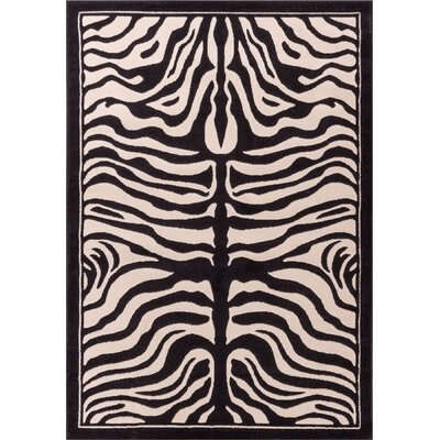 Bitton Ivory Area Rug Rug Size: 710 x 910