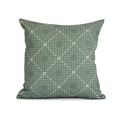 Shirley Throw Pillow Size: 26 H x 26 W x 3 D, Color: Green