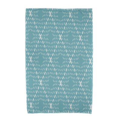 Dots and Dashes Beach Towel Color: Aqua