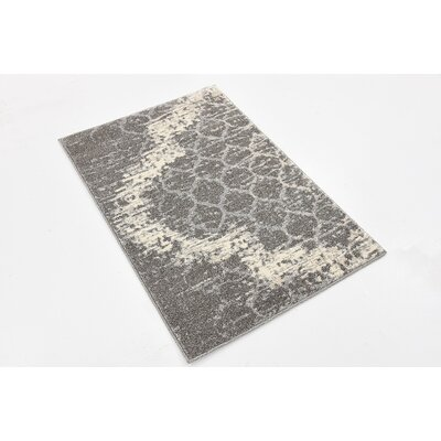 Steinbeck Light Gray Area Rug Rug Size: Rectangle 22 x 3