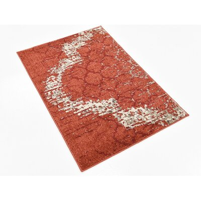 Steinbeck Terracotta Area Rug Rug Size: Rectangle 22 x 3