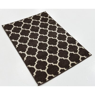 Steinbeck Brown Area Rug Rug Size: 22 x 3