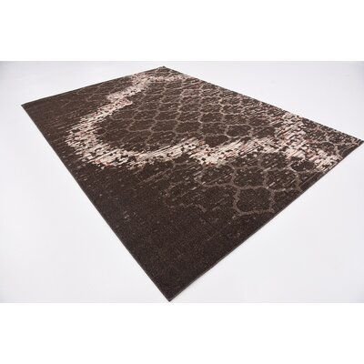 Steinbeck Brown Area Rug Rug Size: 7 x 10