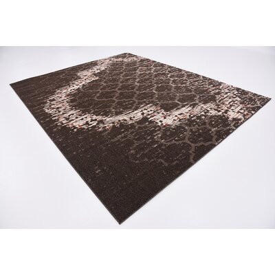 Steinbeck Brown Area Rug Rug Size: 8 x 10
