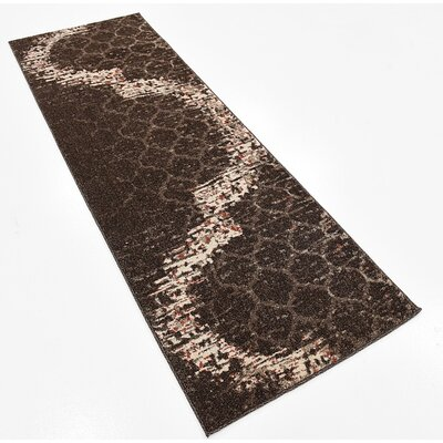 Steinbeck Brown Area Rug Rug Size: Runner 2 x 6