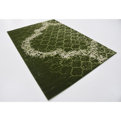 Steinbeck Green Area Rug Rug Size: 5 x 8