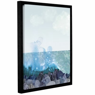 Sea Shore Framed Graphic Art Size: 10