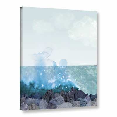 Sea Shore Graphic Art on Wrapped Canvas Size: 10