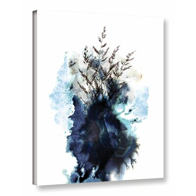 Inklings III Graphic Art on Wrapped Canvas Size: 10