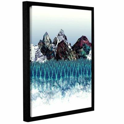 Mount North Framed Graphic Art Size: 10