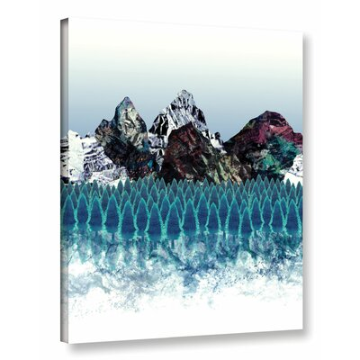 Mount North Graphic Art on Wrapped Canvas Size: 18