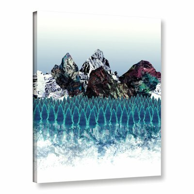 Mount North Graphic Art on Wrapped Canvas Size: 10