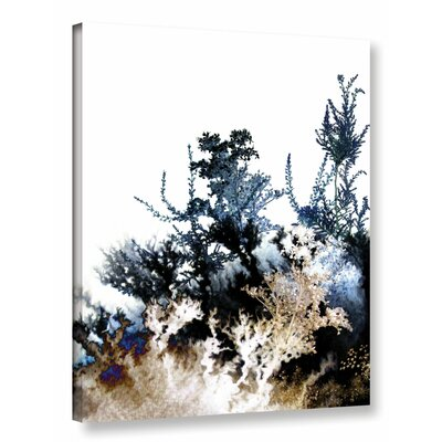 Inklings II Graphic Art on Wrapped Canvas Size: 18