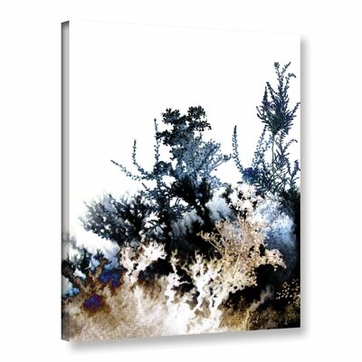 Inklings II Graphic Art on Wrapped Canvas Size: 10