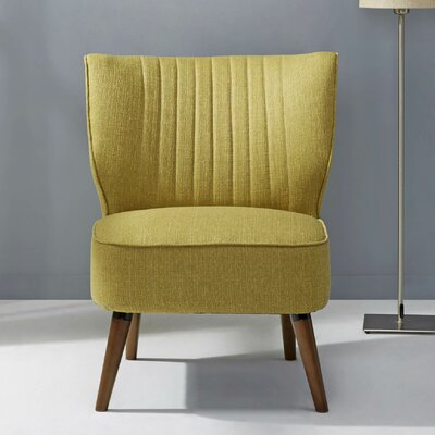 Schiavone Slipper Chair Upholstery: Pistachio