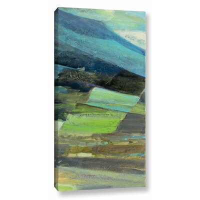 View of the Coast Panel II Graphic Art on Wrapped Canvas Size: 24