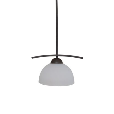 Babin 1-Light Pendant Finish: Coffee