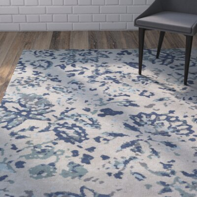 Roan Blue/Gray Area Rug Rug Size: 2 x 3