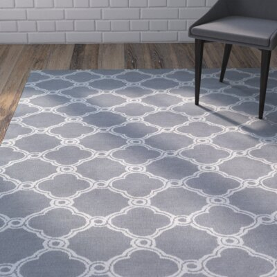 Sandstrom Gray Area Rug Rug Size: Rectangle 5 x 7