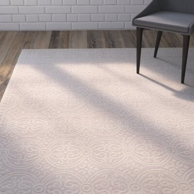 Charlenne Light Pink Area Rug Rug Size: Square 6