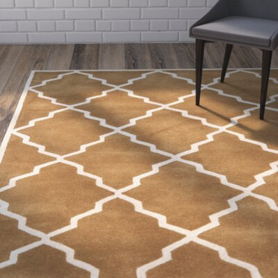 Wilkin Brown Rug Rug Size: Runner 23 x 9