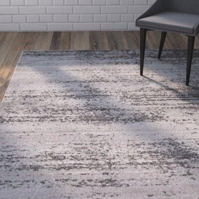 Saffold Gray Area Rug Rug Size: 10 x 13