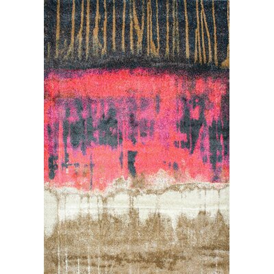Tabris Pink Area Rug Rug Size: Rectangle 67 x 9
