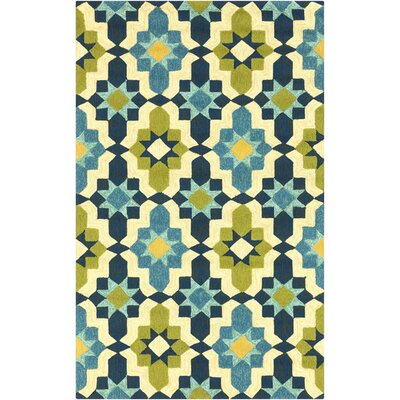 West Hill Multi-Colored Indoor/Outdoor Area Rug Rug Size: Rectangle 2 x 3
