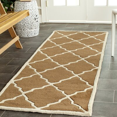 Wilkin Brown Rug Rug Size: Runner 23 x 7