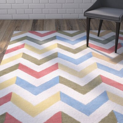 Martins Chevron Indoor / Outdoor Area Rug Rug Size: Rectangle 2 x 3