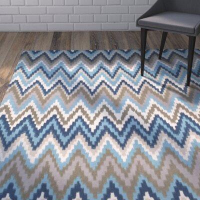 Sonny Teal & Blue Area Rug Rug Size: Runner 2 x 8