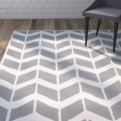 Martins Dark Gray/Ivory Area Rug