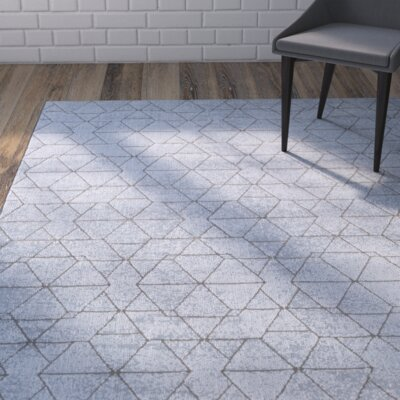 Mcdowell Blue Area Rug Rug Size: Rectangle 710 x 10