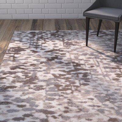 Ladson Brown Area Rug Rug Size: 8 x 10