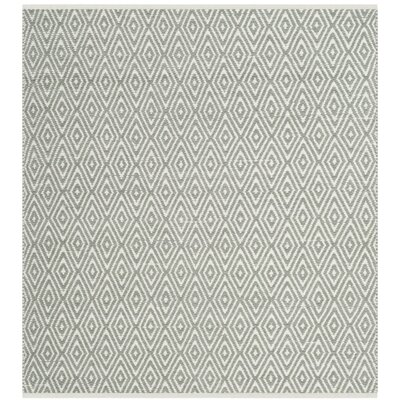 Scheid Hand-Tufted Green Area Rug Rug Size: Square 4