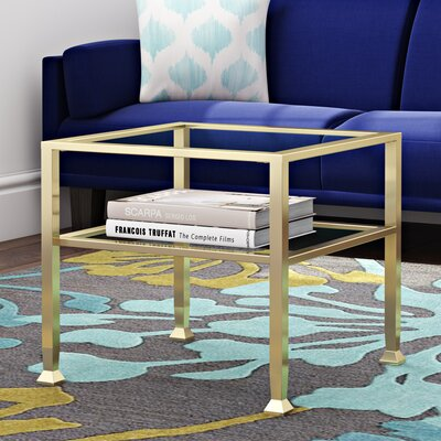 Collingdale End Table Base Finish: Matte khai