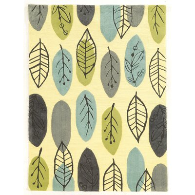 Scheidt Tropical Hand-Tufted Blue/Green Outdoor Area Rug Rug Size: Rectangle 8 x 10