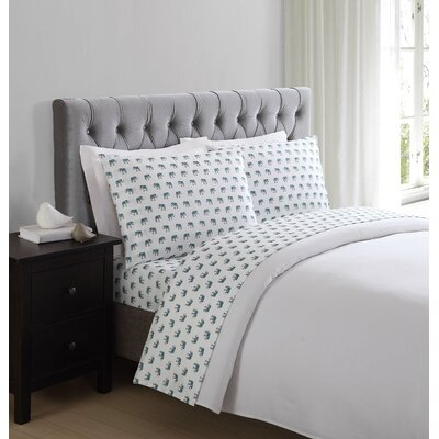 Schiavo Elephant Sheet Set Size: Twin