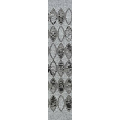 Scorpius Gray/Black Indoor/Outdoor Area Rug Rug Size: Runner 23 x 710