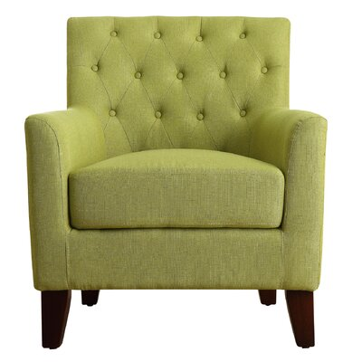 Goodfield Armchair Upholstery: Pear Green