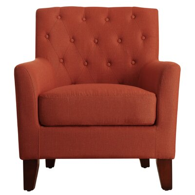 Kilmersdon Tufted Arm chair Upholstery: Zuma Atomic