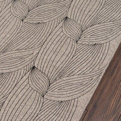 Zelda Hand-Woven Gray Area Rug Rug Size: Runner 23 x 8